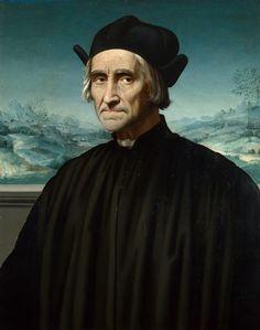 Ridolfo del Ghirlandaio. Ritratto di Girolamo Benivieni. Londra, National Gallery