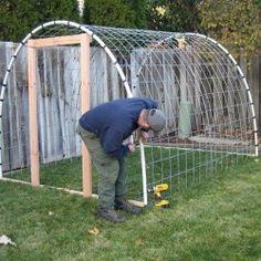 Byg et billigt drivhus - tunneldrivhus