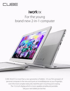 Original Box Cube iWork1X 64GB Intel Atom X5 Z8350 Quad Core 11.6 Inch Windows10 Tablet Sale - Banggood.com