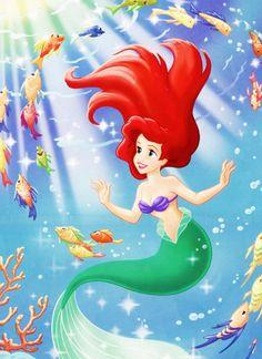 *ARIEL ~ The Little Mermaid....life under the sea