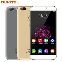 "Original OUKITEL U20 Plus 4G Mobile Phone RAM 2GB ROM 16GB MTK6737T Quad-Core 5.5"" Android 6.0 Dual Lens Back Camera Smartphone"