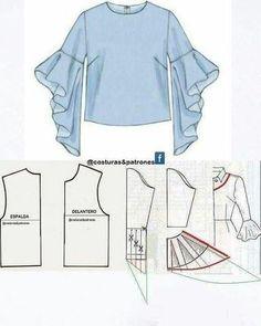 1,150 отметок «Нравится», 9 комментариев — Dikiş Kalıp Atölyesi (@dikiskalipatolyesi) в Instagram: «ALINTI #bluza #dikiş #modelist #fashion»