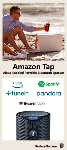 Amazon Tap – Alexa-Enabled Portable Bluetooth Speaker - you can be sure that you are going to get some amazing music from Alexa.
