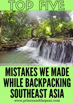Our Top 5 Mistakes We Made While Backpacking Southeast Asia: From losing money & not being prepared to being stranded in the middle of nowhere, there's a lot that can go wrong during a backpacking trip.