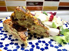 Slaný koláč ze starého chleba   Nikol Kukačková - domácí recepty French Toast, Breakfast, Food, Morning Coffee, Essen, Meals, Yemek, Eten