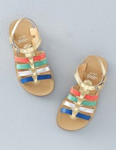 Leather Gladiator Sandals  Sandals at Boden