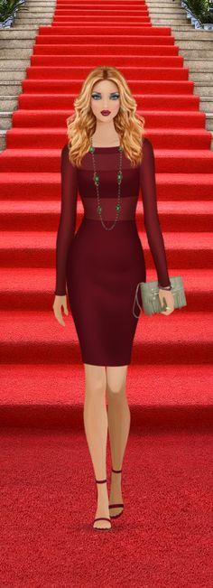 TV Awards Show Red Carpet