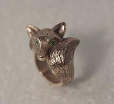 Dies ist die pelzigen Version der satin Bronze Fox kommt in dunkel oder hell