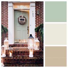 front doors  doors and green on pinterest Cream Colored Living Room Tables Cream Colored Living Room Tables