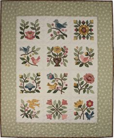Songs of Spring  From my heart to your hands: Quilt Designs by Lori Smith
