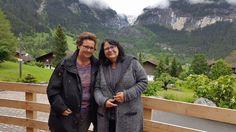 Schweiz  - Grindelwald, Eiger rechts von der Seite gesehen