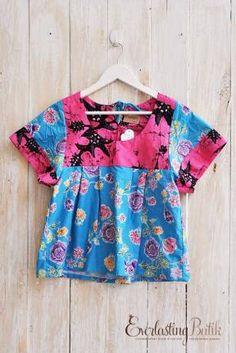 Chiara batik top with garutan buy online from www.everlastingbatik.co ...
