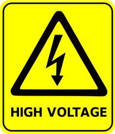 high voltage .