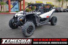 New 2017 Can-Am Maverick™ X3 Turbo R ATVs For Sale in California.