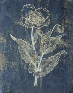indigo flower (limilee)