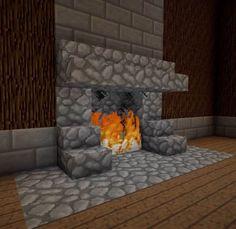 9 Kamin Ideen - Minecraft Welt People like Minecraft because of a few very simple Minecraft World, Minecraft Houses For Girls, Minecraft Room, Minecraft Crafts, Minecraft Designs, Minecraft Skins, Minecraft Furniture, Minecraft Stuff, Lego Room