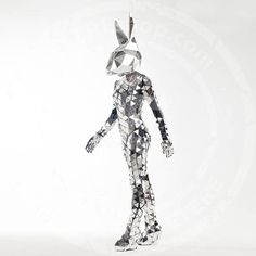 Mirror Family Easter or Alice in Wonderland Bunny - can be hire as an individual character to walkabout or as an addition to the Mirror Family Mirror Man, 3d Mirror, Acrylic Mirror, Mirror Glass, Rave Party Outfit, Bunny Mask, Laser Show, Dressing Mirror, Rabbits