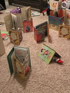 Ringal our Elf was up all night reading