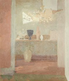 bofransson:  Mary Potter (British, 1900-1981) The Flower Room, Red House, Aldeburgh