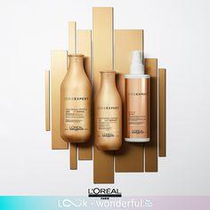 Ανακαλύψτε την ανανεωμένη σειρά L'Oreal Professionnel Absolut Repair με χρυσή κινόα και πρωτεΐνες για εντατική αναδόμηση της τρίχας. L'oréal Paris, Loreal, Cute Babies, Hair Care, Long Hair Updos, Hair Care Tips, Hair Makeup, Funny Babies, Hair Treatments