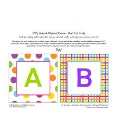 Full Alphabet free printables