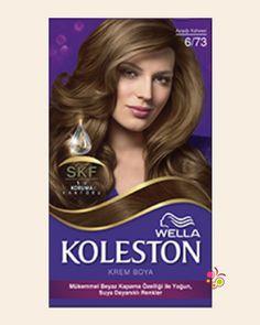 KOLESTON Set Saç Boyası 6/73 Ay Işığı Kahvesi