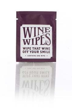 Wine Wipes Single Pack Bachelorette Party by CraftedbyBorracha, $20.00