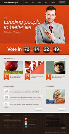 Strong Leaders – Political Candidate WordPress Theme - See more at: http://www.bloggersideas.com/dont-worry-be-happy-with-22-wordpress-templates-in-sunny-colors/#sthash.yKttOfHy.dpuf