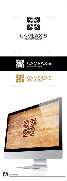 Game Axis  Logo Design Template Vector #logotype Download it here: http://graphicriver.net/item/game-axis-logo/10135980?s_rank=1648?ref=nexion