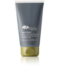 Origins Skin Diver Active Charcoal body scrub--haven't used their products for years. Happy to see that all of their products are now Paraben Free!