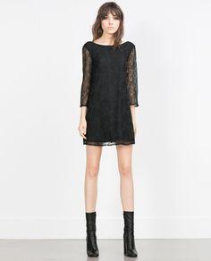 $99.90 BEAD EMBROIDERED DRESS-Evening-WOMAN | ZARA