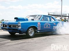 1967 GTO Drag Race Car