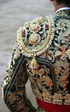 Amazing Morante's Torero jacket.
