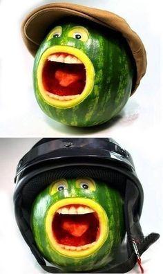 Creative watermelon works 6-20