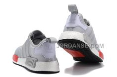 low priced 0f9e7 55e97 Adidas Originals NMD Boost Herre Grey Red,The Latest Adidas Superstar  Styles For Dame og Herre Online Billige til Salg Fast Shipping!