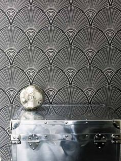 2809 Etage wallpaper from Boras Tapeter Au Hasard Balthazar, Osborne And Little, Small Toilet, Wardrobe Storage, Cole And Son, Grey Pattern, Designers Guild, Online Painting, Basic Colors