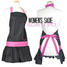 Daily Deal Tuesday (2/24/2015) - Women's SADIE Sugar 'N Spice Apron for $9.95. No other discounts or coupons can be applied. via flirtyaprons.com. #apronsforwomen #discounts #coupons #flirtyaprons #apron #pink #cuteaprons