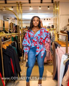 Ankara Tops for ladies The Ultimate Must-Have 2019 Collection ankara tops - Ankara Tops for ladies The Ultimate Must Have 2019 Collection 24 - Ankara Tops for ladies: The Ultimate Must-Have 2019 Collection Best Fashion Designers, African Fashion Designers, Latest African Fashion Dresses, African Print Fashion, Ankara Tops Blouses, Ankara Blouse, Trendy Ankara Styles, Ankara Dress Styles, African Attire
