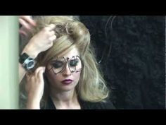 How make it. Werk video from Linda Király (hungarian singer) photo series