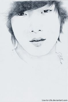 #KPopFanArt #FTIsland #MinHwan Sketch by Lisa-to-Life on DeviantArt