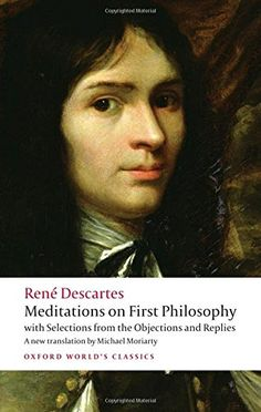Descartes first discards all belief in things which are not absolutely certain, and then tries to establish what can be known for sure. #descartes #philosophy
