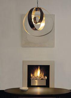 London based residential lighting designer Luxologie offers contemporary lighting design solutions for interiors and gardens Interior Lighting, Home Lighting, Modern Lighting, Lighting Design, Large Pendant Lighting, Pendant Lamp, Decorative Lighting, Brass Chandelier, Brass Pendant