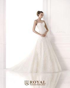 板橋蘿亞手工婚紗 Royal handmade wedding dress 婚紗攝影 購買婚紗 單租婚紗 西班牙 Pronovias MAIVE