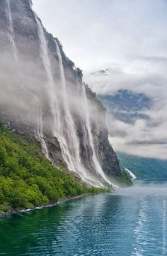 Seven Sisters Waterfall, Geiranger, Norway – Google+