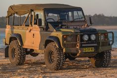 Land Rover Defender 110 wolf.