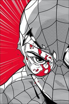Spider-man by Adam Limbert