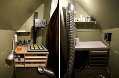 Want a darkroom but don't think you've got enough space? This guy did it with only a 3.5x7-foot closet at his disposal, and then shared the whole process online! http://petapixel.com/2014/10/21/diy-how-one-man-created-an-entire-darkroom-in-a-3-5x7-foot-closet/