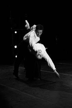 """Samantha Galler and Noah Hart in Roger Van Fleteren's """"Romancing Rachmaninoff"""" photo by Melissa Dooley"""