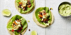 Our Southwestern Chicken Tacos with Avocado Cream are nacho average chicken taco recipe–I Quit Sugar Best Vegetable Recipes, Easy Healthy Recipes, Healthy Snacks, Healthy Eating, Veg Recipes, Cream Recipes, Brunch Recipes, Avocado Cream, Avocado Toast