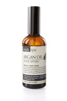 Muk Spa Argan Oil Repair Shine Spray